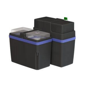 Waterverzachter Hydrosoft 200BL vooraanzicht met deksel